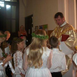 Madalienas dr. bērniem 1.Sv.Komunija Nīcgalē 2013.g.
