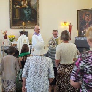 Sv. Mise par labdariem pēc baznīcas renovācijas 25.05.2014.g.