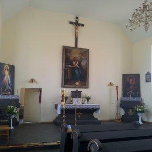 Pēc baznīcas renovācijas 2014.g.